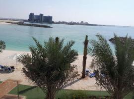 2 Bedroom Deluxe Beach Apartment Al Marjan, accessible hotel in Ras al Khaimah