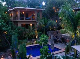 Maquil, hotel en Zipolite