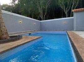 Meu Lugar na Praia Enseada, hotel in Guarujá