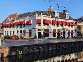 Hotel Restaurant 't Heerenlogement, hotel in Harlingen