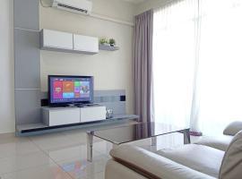 J&A Cozy Home with 3 rooms 5 pax @Bm Bandar Perda, apartment in Bukit Mertajam