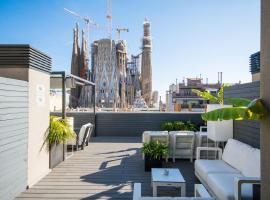 Sensation Sagrada Familia, hotel poblíž významného místa Sagrada Familia, Barcelona