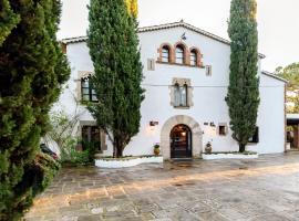 Masía Can Manent del Bosc S XVIII, hotel que acepta mascotas en Santa Eulàlia de Ronçana