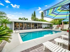 Blue Palm, villa in Sarasota