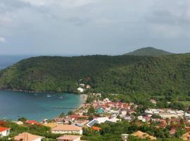 Magnifique vue sur les anses d'Arlet., Ferienwohnung in Les Anses-d'Arlets