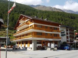 Hotel Krone, hotel in Saas-Grund