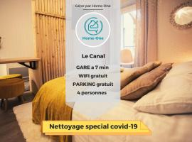 Le canal, parking gratuit - Home-One, apartment in Dole