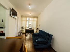 Apartamento aconchegante com estacionamento na 25 de março, pet-friendly hotel in Sao Paulo