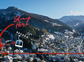 AppartChalet LA RONDULA, serviced apartment in Ortisei