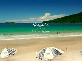 Parada Beach Pousada à Beira-Mar, hotel em Florianópolis