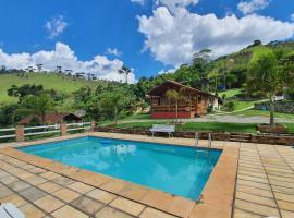 Chales Edelweiss, hotel near Parque Nacional de Itatiaia, Visconde De Maua