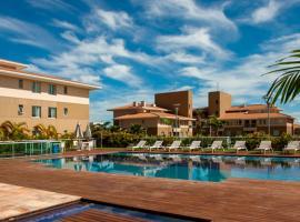 Hotel The Sun. Kit completa. Área de lazer com Piscinas, Academia, Wifi., hotel in Brasilia