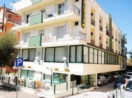 Hotel Baltic, hotell i Misano Adriatico
