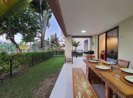 Apartamento térreo com TV 4k no WaiWai na praia do Cumbuco por Carpediem, apartment in Caucaia