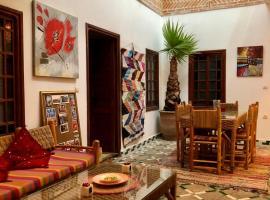 Riad Dihya, hotel romantico a Marrakech