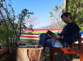 Jungle Babblers , Mussoorie, luxury tent in Mussoorie