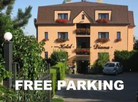 Hotel Diana & apartments, апарт-отель в Праге