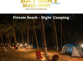 GOA PRIVATE BEACH CAMPING W DINNER DRINKS & BFAST, campground in Cola