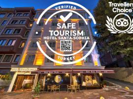 Santa Sophia Hotel - İstanbul, hotel poblíž významného místa Velký bazar, Istanbul