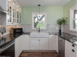 Cozy Convenience: 2bdrm, King Beds, 5mins to Biltmore, apartment in Asheville