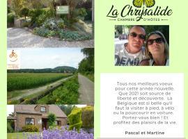 B&B La Chrysalide, hotel near Jemappes, Mons
