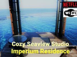 Cozy Seaview Studio at Imperium residence Tanjung Lumpur Kuantan, apartment in Kuantan