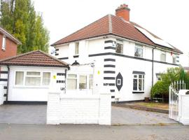 Sophisticated & Comfy 4 Bed House, Hosts up to 5 Guests!!, pet-friendly hotel in Birmingham