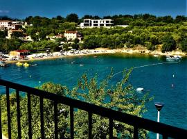VILLAMAR beachfront apartments with FREE private parking, room in Rabac