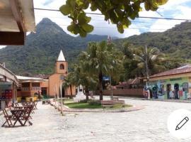 Kit Net na ilha grande RJ ., hotel in Praia Grande