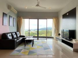 Loft Horizon, Imago, Sea view, 3 rooms, apartment in Kota Kinabalu