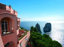 Hotel Punta Tragara, hotel en Capri