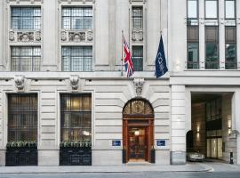 Club Quarters Hotel, Gracechurch, hotel near The Shard, London