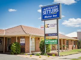 Australian Settlers Motor Inn, hotel near Pioneer Settlement, Swan Hill