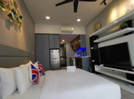Expressionz KLCC 1 Bedroom Suite 55inch TV Netflix Ready, homestay in Kuala Lumpur
