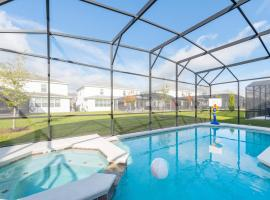 Family Resort - 8BR Mansion - Private Pool, Hot Tub and BBQ, hotel in Kissimmee