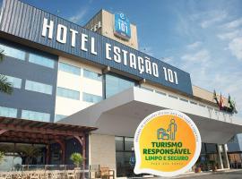 Hotel Estação 101 - Itajaí, family hotel in Itajaí