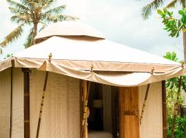 Bali Beach Glamping, luxury tent in Badung