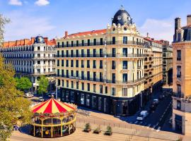 Hotel Carlton Lyon - MGallery Hotel Collection, accessible hotel in Lyon
