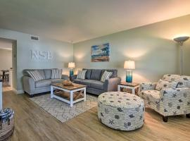 NEW! Beachside Getaway - Steps from Flagler Ave!, vacation rental in New Smyrna Beach