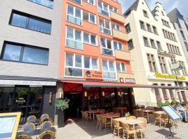 Hotel Drei Kronen, Bed & Breakfast in Köln