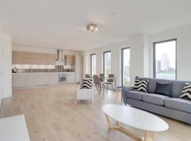 Canary Wharf - Luxury 2 bedroom apartment, hotel in London