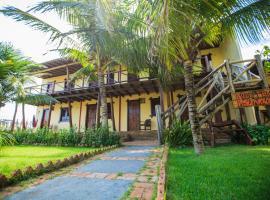 Pousada Recanto dos Poetas, guest house in Luis Correia