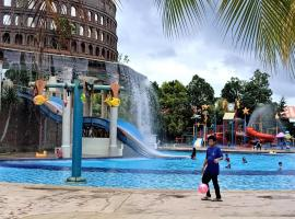 Melaka Homestay - Bayou Themepark Resort, apartment in Malacca