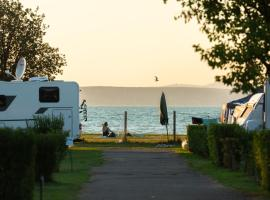 Aranypart Camping, campground in Siófok