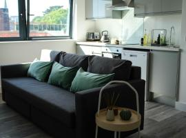 Bright Eco Friendly Apartment, apartment in Bournemouth