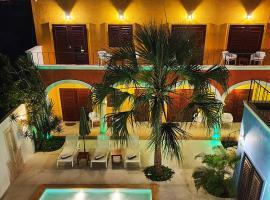 Merida Santiago Hotel Boutique, hotel in Mérida