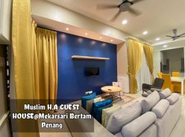 HA Guest House Mekarsari Bertam, family hotel in Kepala Batas
