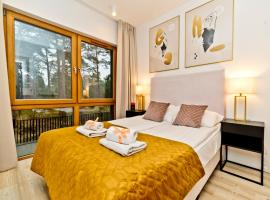 BlueApart Verano Residence, family hotel in Jurata