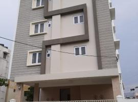 Snekham Service Apartments, отель в городе Коимбатур