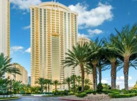 Beautiful Strip View Studio at MGM Signature - No Resort Fee - Strip View - 1403, villa in Las Vegas